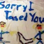 Sorry I Tased You cake.