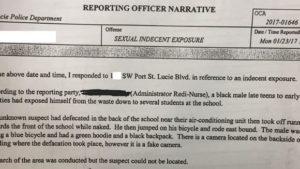 PSL police report