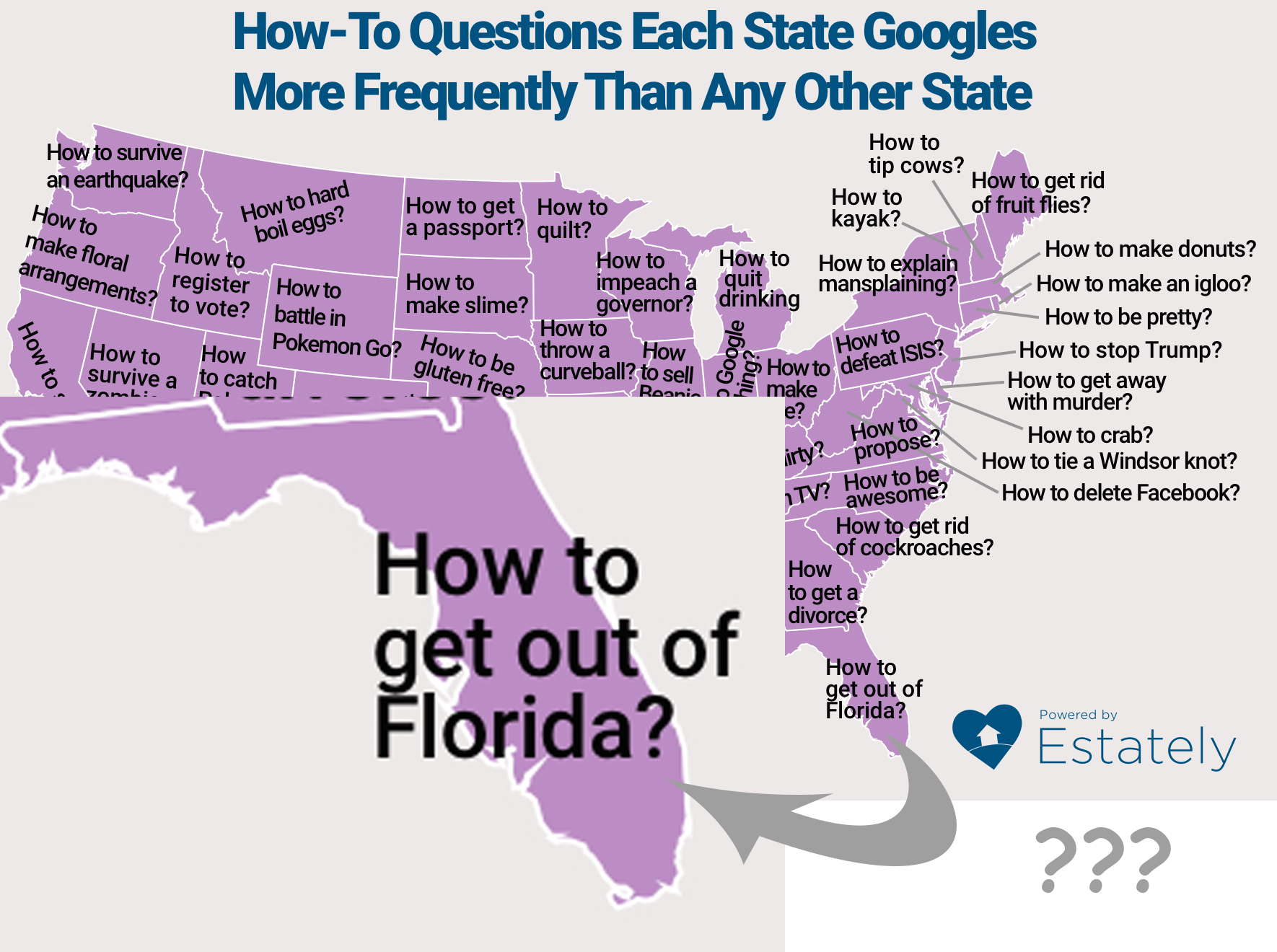 How the fuck do I get out of Florida