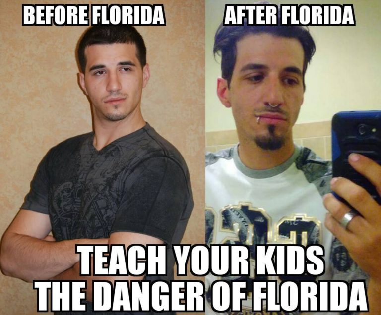 Teach your kids the danger of Florida