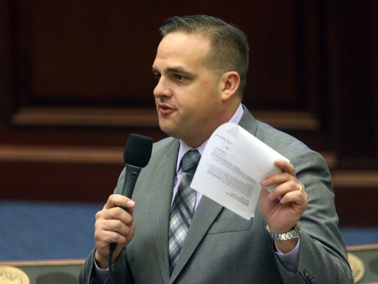 Rep. Frank Artiles resigned his state senate seat early Friday. (Steve Cannon/AP)