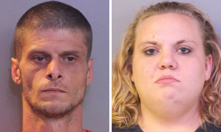 Shaun Sparks, 33, and Christy Michelle Vincent, 27, both of Lakeland, face charges after trying to sell an alligator tail that Sparks had cut off. [Photos courtesy of the Polk County Sheriff's Office]
