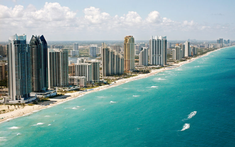 Miami Beach Coast, Florida