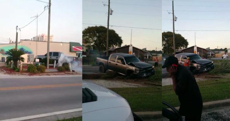 Florida Man films Florida Driver