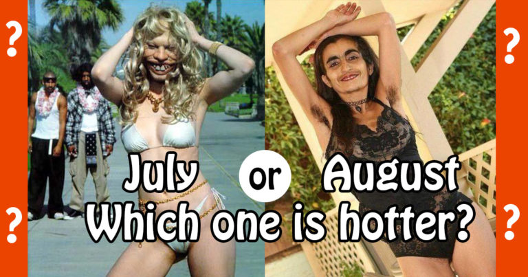 July or August - which one is hotter?