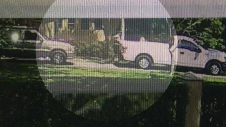 Surveillance image of AAA contractor