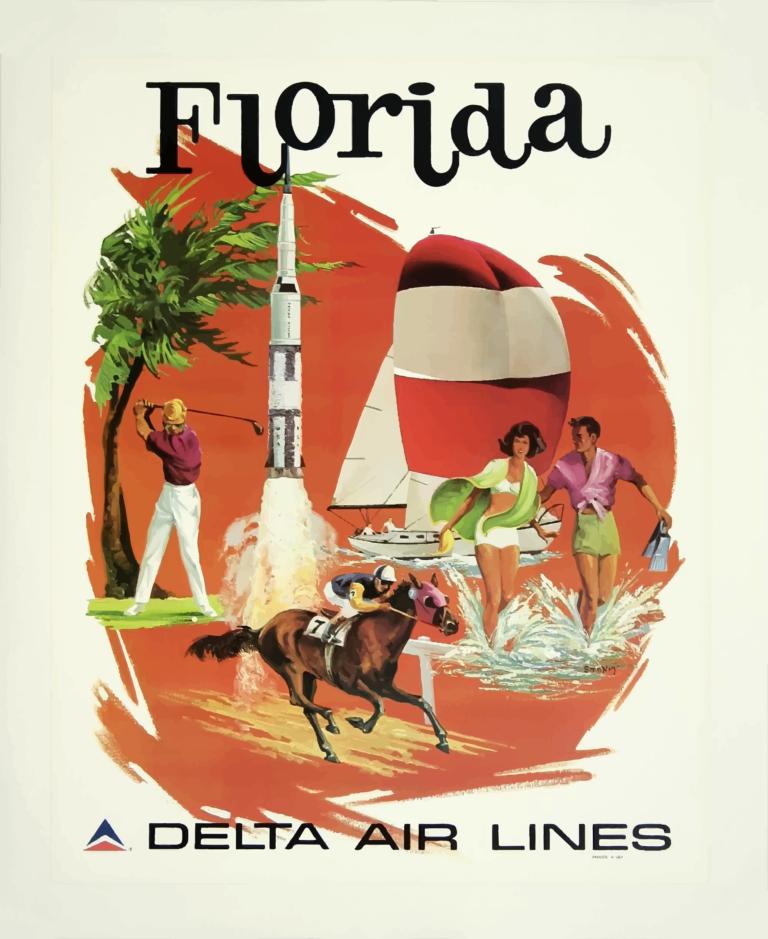 Vintage-Travel-Poster-Florida