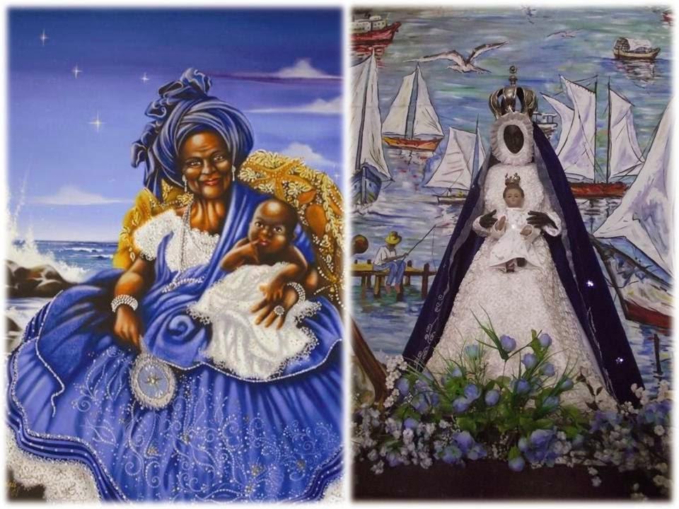 Yemanyá y la Virgen de Regla