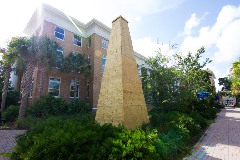 Manatee County Clerk of Circuit Court - Confederate Monument Covered Up