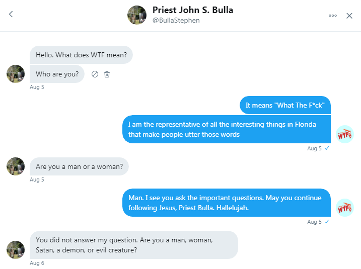 priest bulla twitter conversation