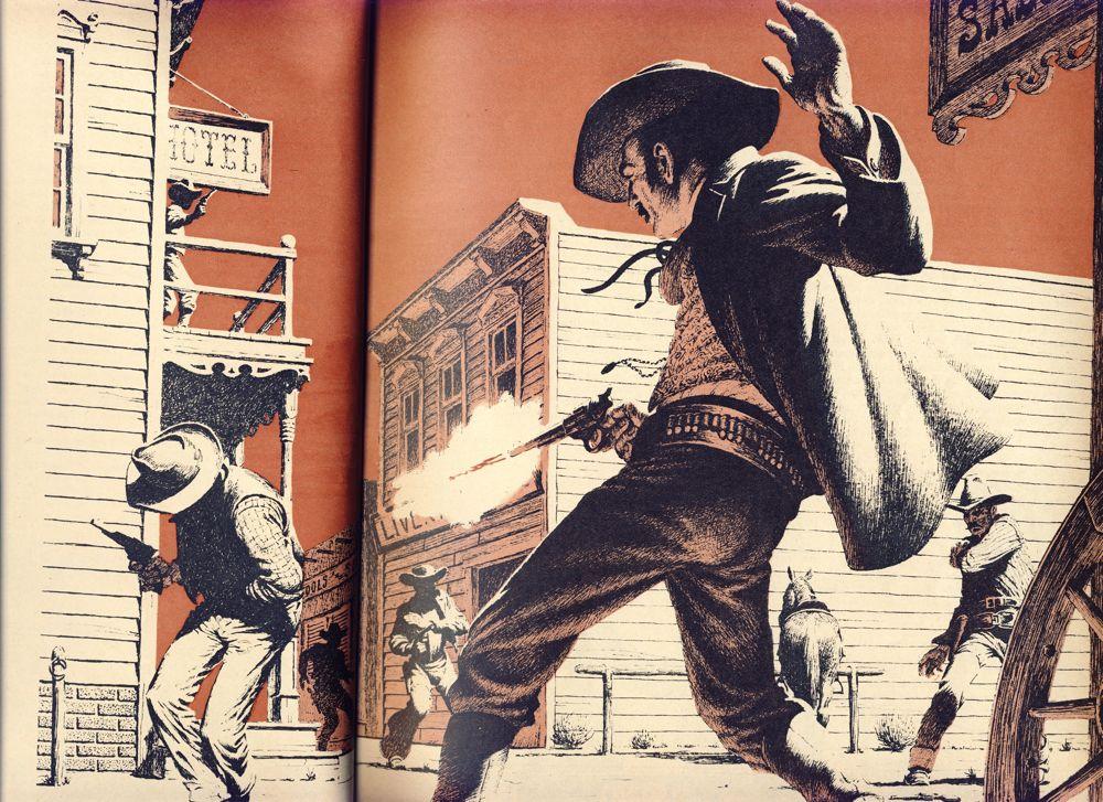 gun fight western