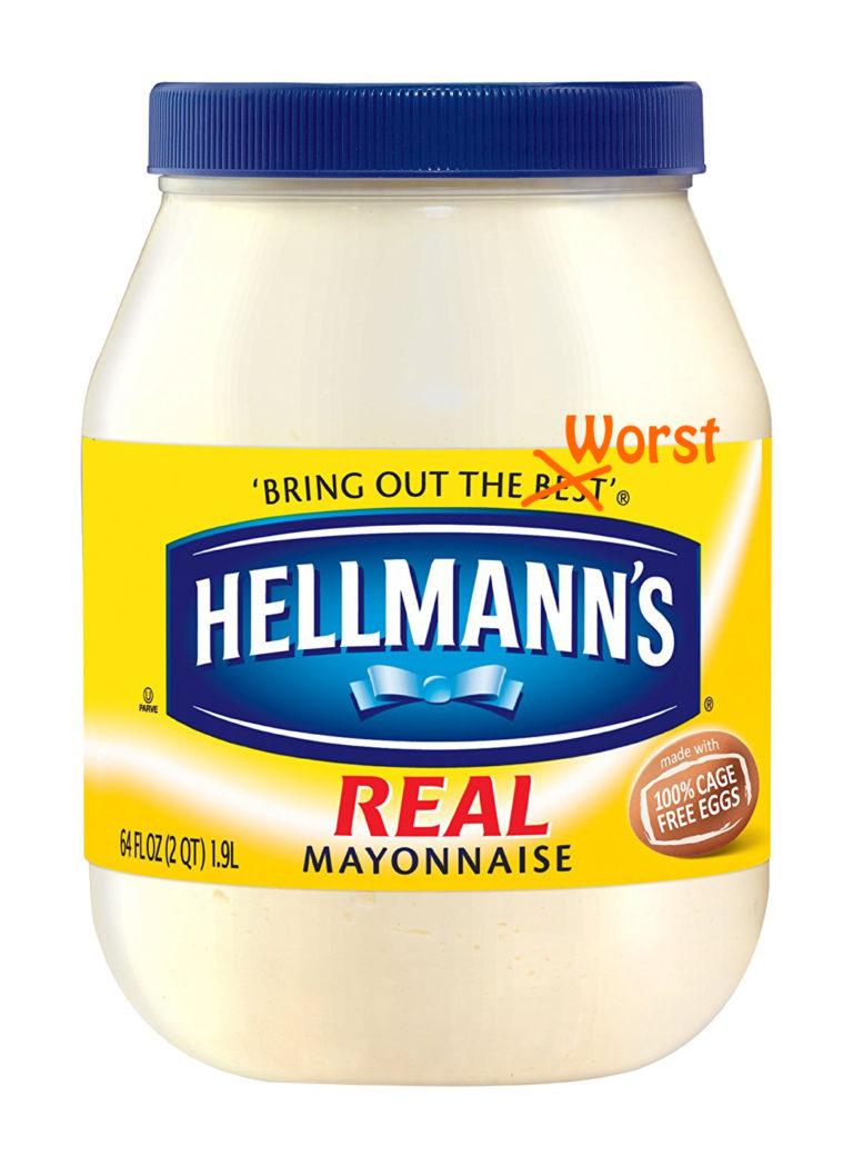 mayonnaise-worst