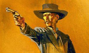 western gun fight