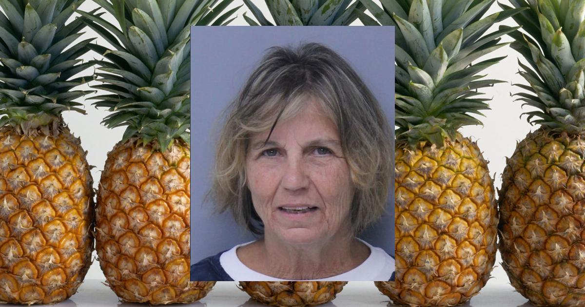naked pineapples