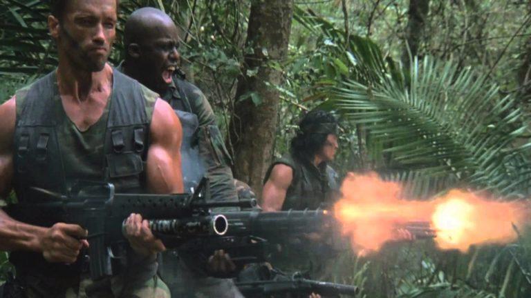 predator gun fire