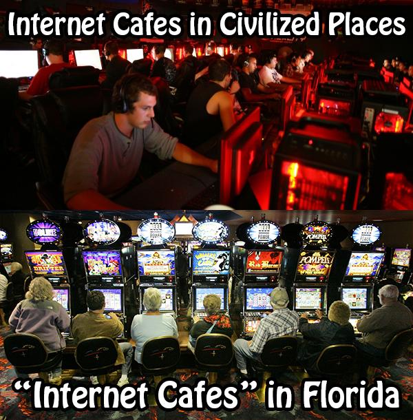 internet cafes florida
