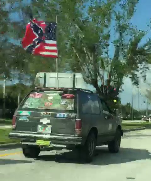 boca raton rebel flag