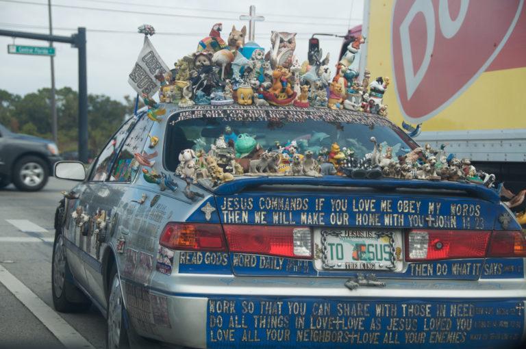 Taken on International Drive in Orlando, FL, right near Sea World.