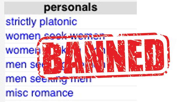 Craigslist warnings personals