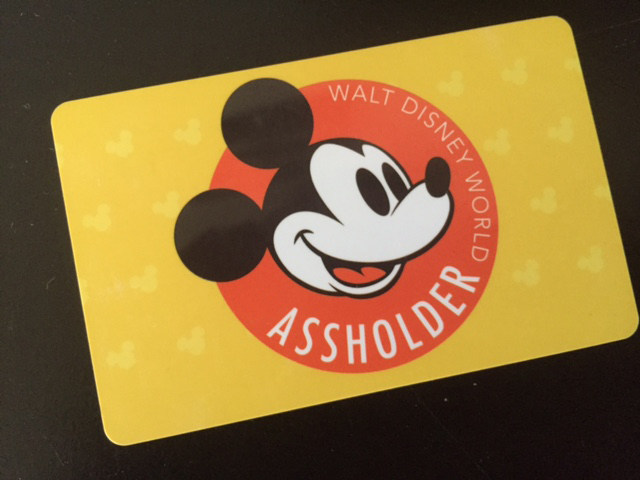 Walt Disney World Passholder / Assholder