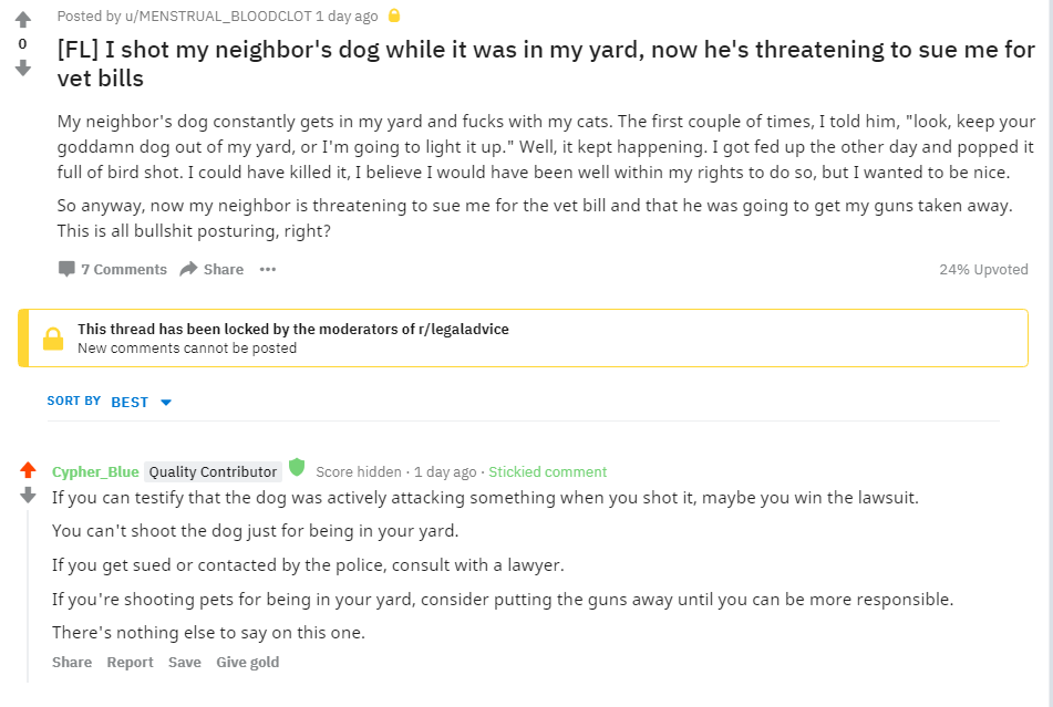 Neighbor Shot My Dog What Can I Do