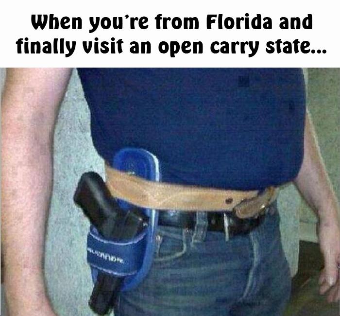 sandal gun holster